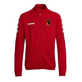 Clane United FC Core Poly Jacket - Red  - Click to view a larger image