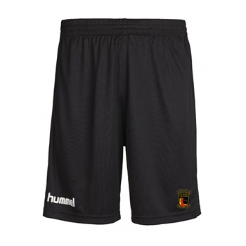 Clane United FC Core Poly Shorts - Black  - Click to view a larger image
