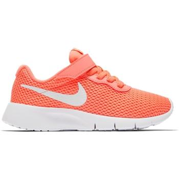 1175ada4cc1 Nike Girls Tanjun Velcro PSV - Pink Orange White - Click to view a