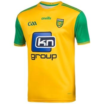 ONeills Donegal GAA Player Fit Home Jersey 2018 - Gold/Green