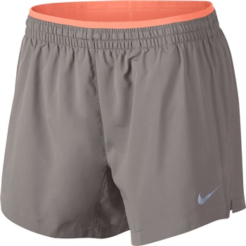 Nike Womens Elevate Shorts - 5inch - Tan - Click to view a larger image 6e8e8b683
