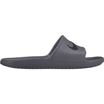 Nike Mens Kawa Shower Flip - Grey/Black  - Click to view a larger image