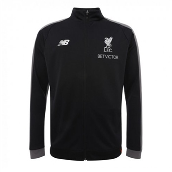 New Balance Liverpool LFC Training Jacket 18/19 - Black  - Click to view a larger image