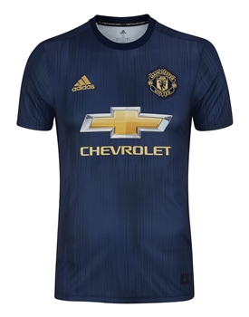 Adidas Manchester United 3rd Jersey 18/19 Kids - Navy/Navy/Gold