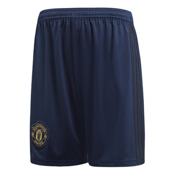Adidas Manchester United 3rd Shorts 18/19 Kids - Navy/Gold