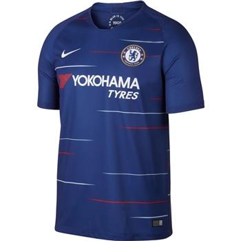 e1302c38604b Nike Chelsea CFC Home Jersey S S 18 19 - Kids - Blue