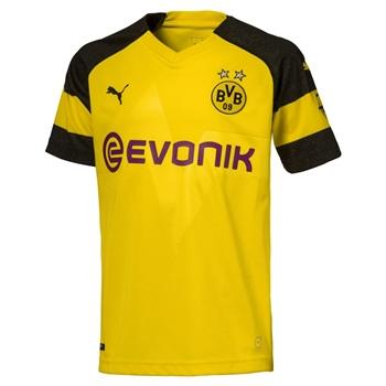 Puma Borussia Dortmund BVB Home Jersey 18/19 - Yellow