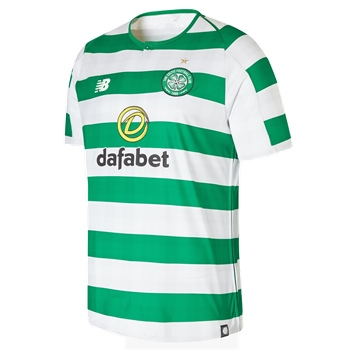 New Balance Celtic FC Home Jersey 18/19 - Green/White  - Click to view a larger image