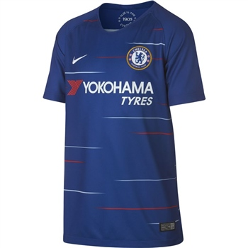Nike Chelsea CFC Home Jersey 18/19 - Kids - Blue  - Click to view a larger image