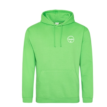 Rinka Adults Two Tone Hoody - Kelly Green/White