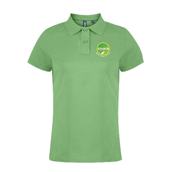 Rinka Gents Polo - Lime Green