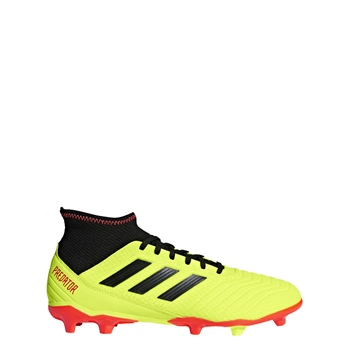 Adidas Predator 18.3 Firm Ground Boot - Yellow Black Red ... 28c0ebe6f