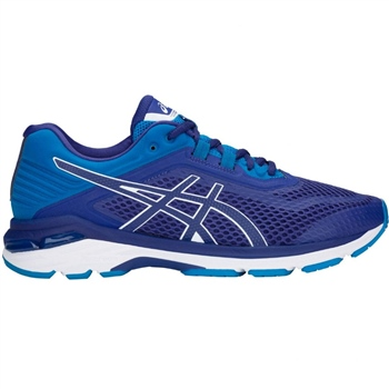 Asics Mens GT-2000 6 Running Shoes - Navy/Royal/White  - Click to view a larger image