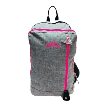 Ridge 53 Dawson Backpack - Grey/Pink  - Click to view a larger image