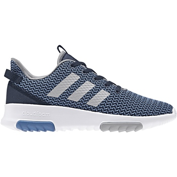 Adidas Kids CloudFoam Racer TR K - Blue/Grey/White  - Click to view a larger image