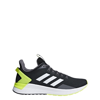 e2277ff1258 Adidas Mens Questar Ride - Black White Yellow