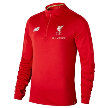 New Balance Liverpool Mid Layer Top 18/19 - Kids - Red