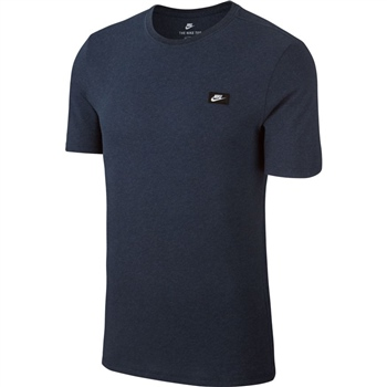 Nike Mens Sportwear Tee - Shoebox Logo - Navy  - Click to view a larger image