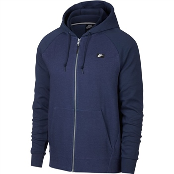 quite nice 7a864 df2a3 Nike Mens Optic FZ Hoodie - Navy - Click to view a larger image