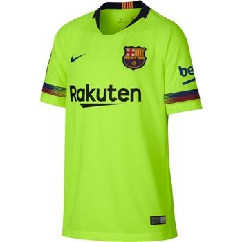 Nike Barcelona FCB Away Jersey 18/19 - Volt