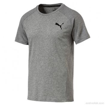 Puma Mens Evostripe Move T-Shirt - Grey  - Click to view a larger image