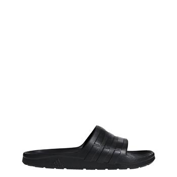 newest collection 1df03 1223e Adidas Mens Duramo Slide - Black Black