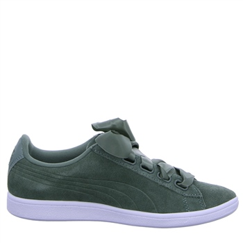 Puma Womens Vikky Ribbon SD P Trainers - Laurel Wreath Green