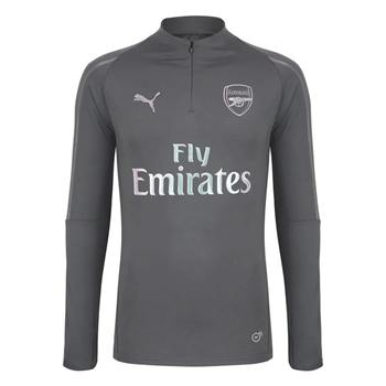 4d5618ba8e88cf Puma Arsenal FC 1/4 Zip Top - Grey | AllSportStore.com