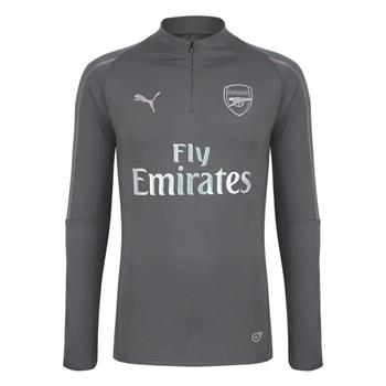 7bc248755f9 Puma Arsenal FC 1 4 Zip Top - Grey