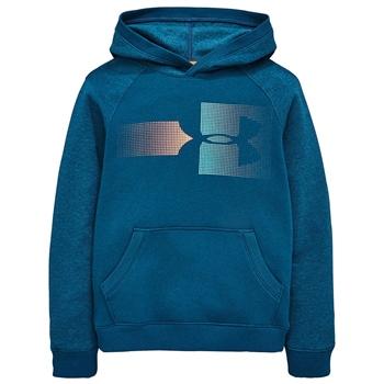 Under Armour Boys Rival Logo Hoodie - Blue