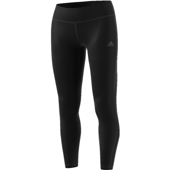 Adidas Womens D2M RR Solid Leggings - Black  - Click to view a larger image