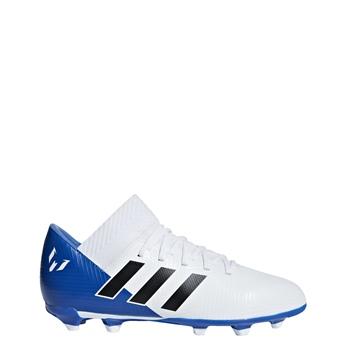 616a1c6cee9a Adidas Nemeziz Messi 18.3 FG Kids - White Royal - Click to view a larger
