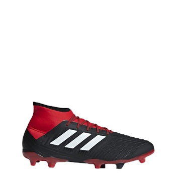 Predator 18.2 FG Adults , Black/White/Red , 8.5 , Black/White/Red