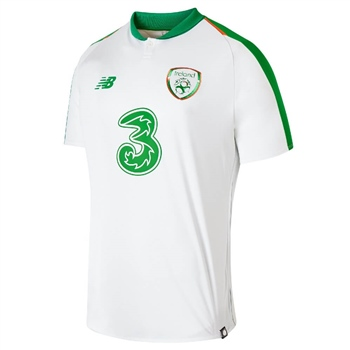 New Balance Ireland FAI Away S/S Jersey 18/19 - White