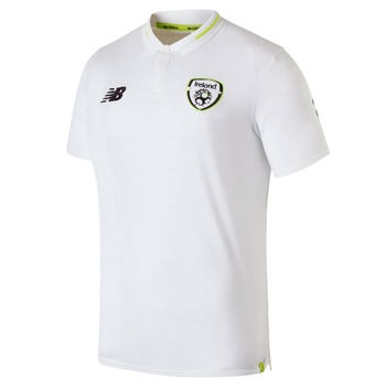 038186fc2bec New Balance Ireland FAI Elite Leisure Polo - White - Click to view a larger  image