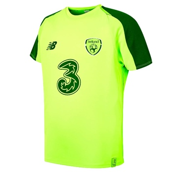 New Balance Ireland FAI Elite Training Jersey - Electric Green
