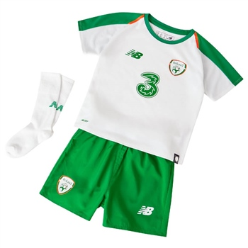 New Balance Ireland FAI Infants Away Kit 18/19 - White  - Click to view a larger image