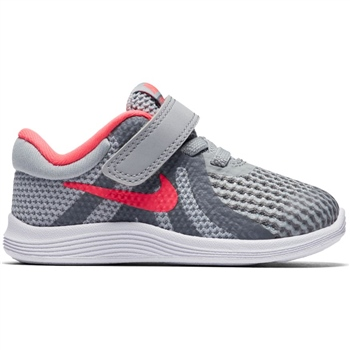 43400c7d2be Nike Girls Revolution 4 (TDV) - Grey Pink - Click to view a