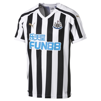 Puma Newcastle United Home Jersey 18/19 - Black/White