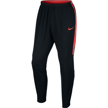 Nike Mens NK Dry Academy Pants - Black/Crimson  - Click to view a larger image