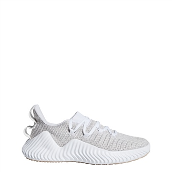 754ccc6ad Adidas Womens AlphaBOUNCE Trainer - Grey White - Click to view a larger  image
