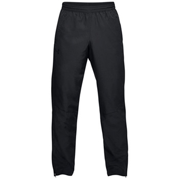 Under Armour Mens Sportstyle Woven Pant - Black  - Click to view a larger image