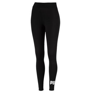 Puma Womens Ess Logo Leggings - Black