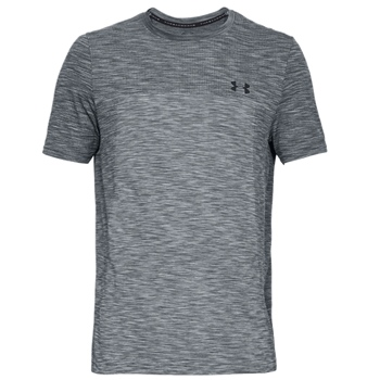 Under Armour Mens Vanish Seamless T-Shirt - Grey  - Click to view a larger image