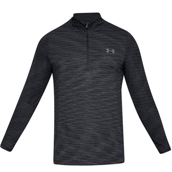 Under Armour Mens Vanish Seamless 1/2 Zip Top - Black