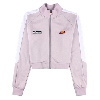 Ellesse Womens Pinzolo Funnel Neck Track Top - Lilac