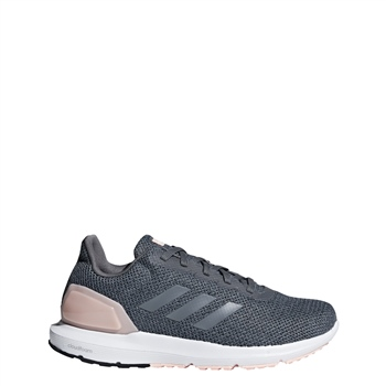 Adidas Womens Cosmic 2 Running Shoe - Grey/Peach  - Click to view a larger image