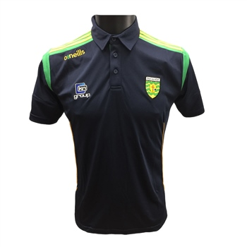 ONeills Donegal Solar Polo Shirt - Navy/Emer/Amber  - Click to view a larger image