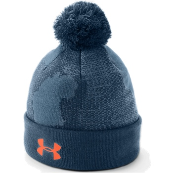 f76ea9cff Under Armour Boys Pom Beanie Upd. - Blue - Click to view a larger image