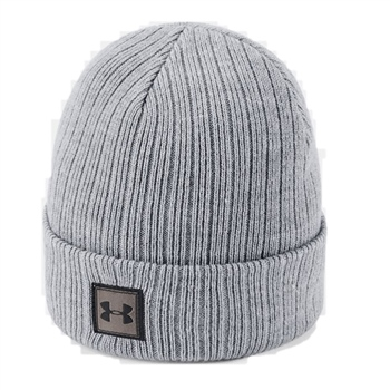 cb593d531 Under Armour Boys Truckstop Beanie 2.0 - Grey | AllSportStore.com